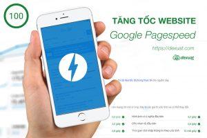 Tối ưu tốc độ trên google pagespeed