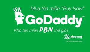 Hướng dẫn mua tên miền Godaddy