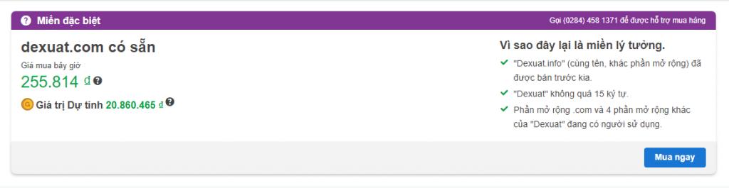 Tìm kiếm domain chuyển nhượng giá rẻ tại godaddy