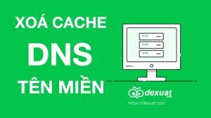 Xóa cache DNS tên miền trên máy tính nhanh nhất