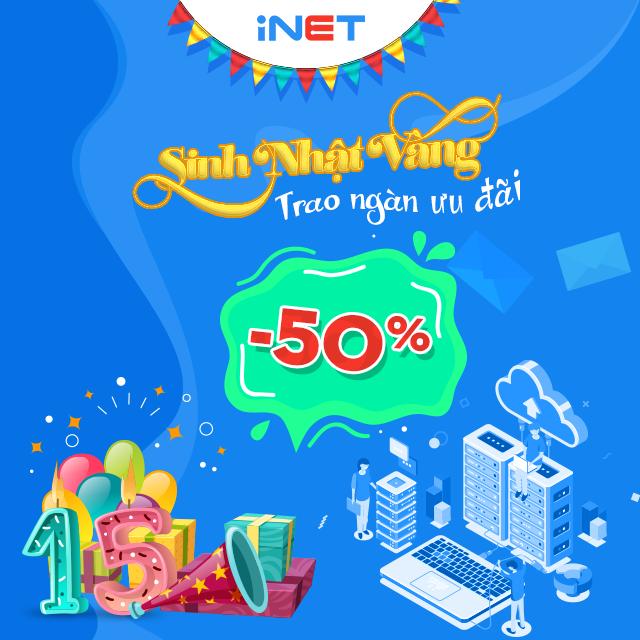 Khuyến mãi cực lớn từ INET